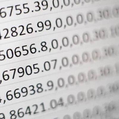 شمارش اعداد منفی در اکسل